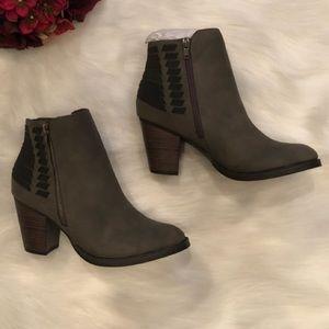 Black & Grey Booties